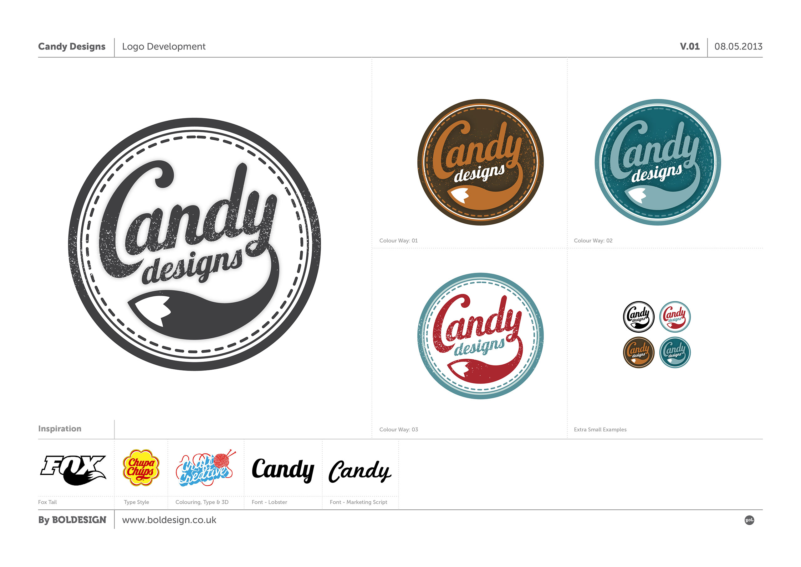 Bol Design Candy Designs A Crafty Logo